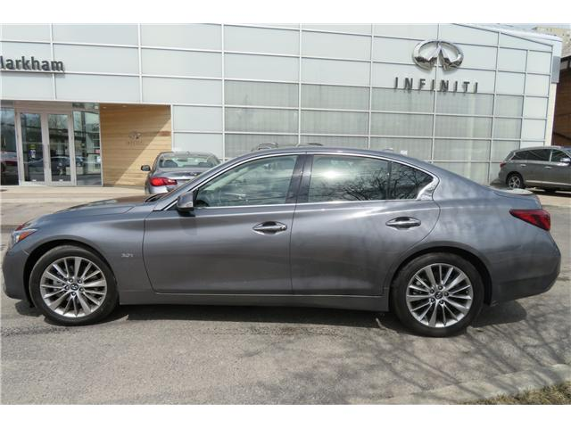 2018 Infiniti Q50 3.0t LUXE (Stk: P2955) in Markham - Image 2 of 15