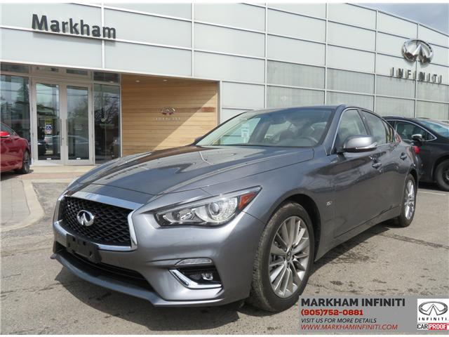 2018 Infiniti Q50 3.0t LUXE (Stk: P2955) in Markham - Image 1 of 15