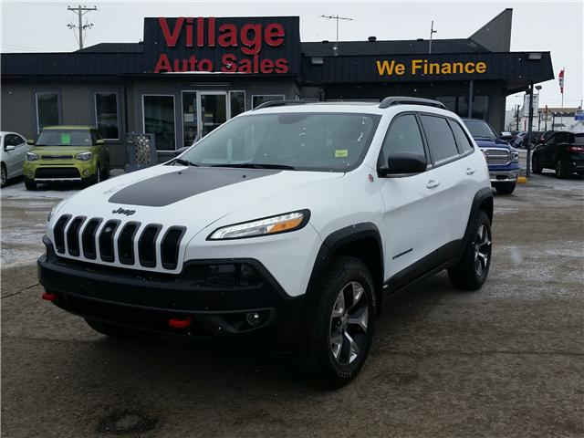 2017 Jeep Cherokee Trailhawk (Stk: P35123) in Saskatoon - Image 1 of 23