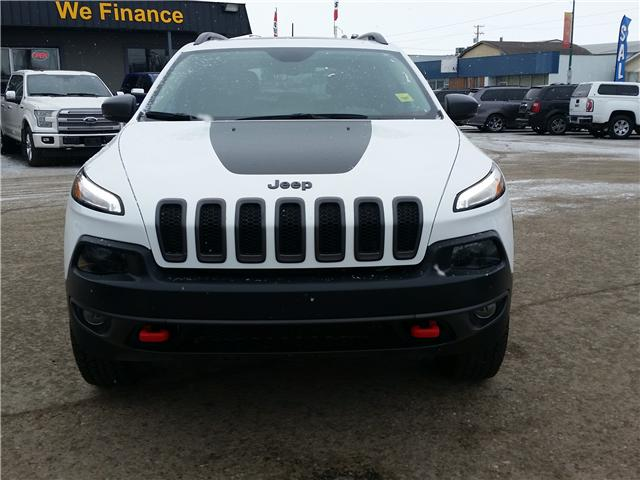 2017 Jeep Cherokee Trailhawk (Stk: P35123) in Saskatoon - Image 2 of 23
