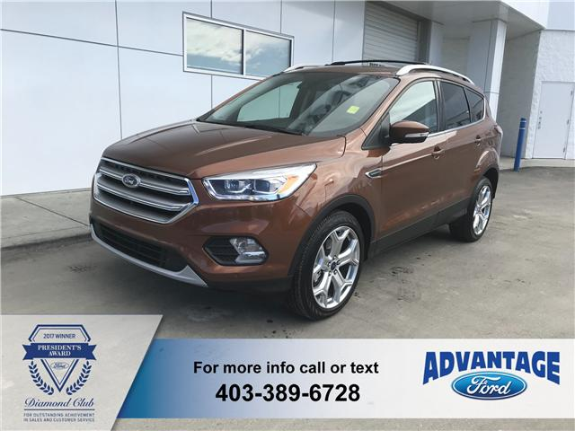 2017 Ford Escape Titanium (Stk: 22383) in Calgary - Image 1 of 9