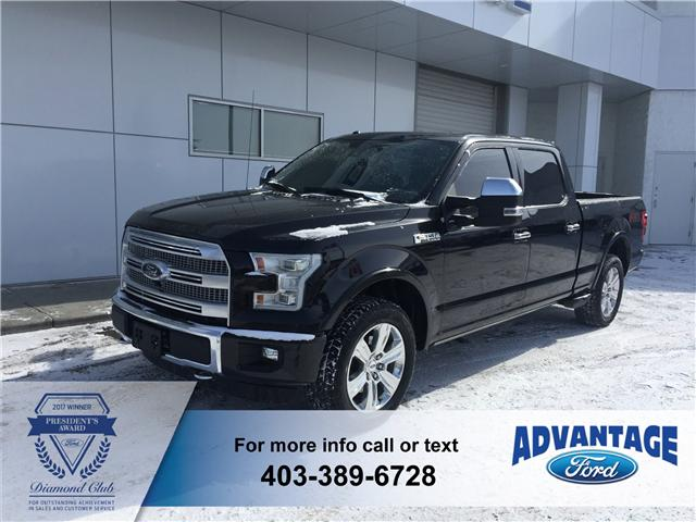 2015 Ford F-150 Platinum (Stk: J-030A) in Calgary - Image 1 of 10