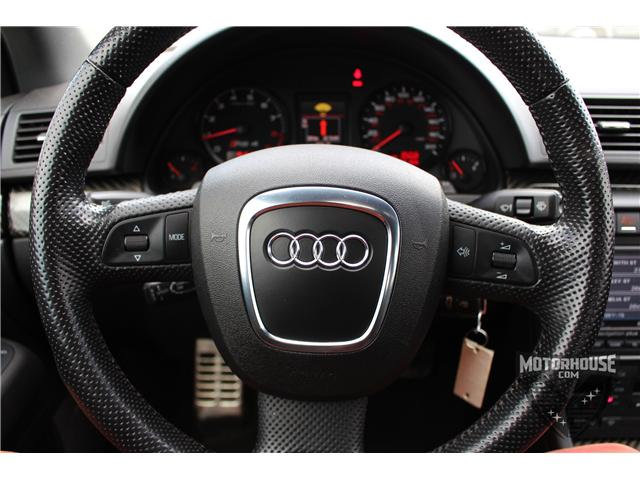 2007 Audi RS 4 4.2L (Stk: 1213) in Carleton Place - Image 23 of 34