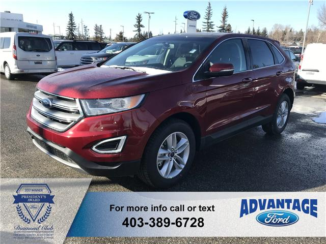 2018 Ford Edge SEL (Stk: J-692) in Calgary - Image 1 of 5
