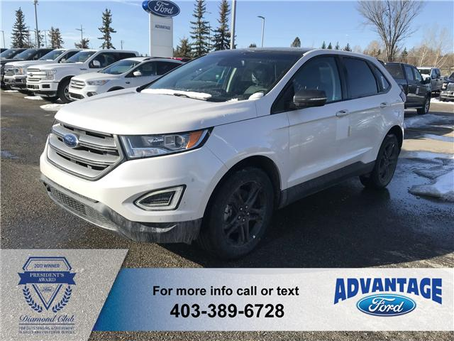 2018 Ford Edge SEL (Stk: J-797) in Calgary - Image 1 of 5