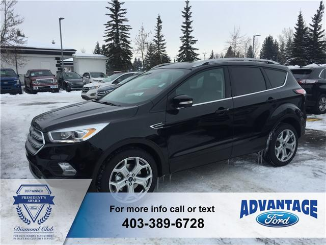 2018 Ford Escape Titanium (Stk: J-455) in Calgary - Image 1 of 6