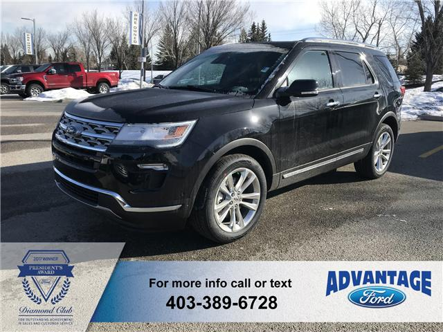 2018 Ford Explorer Limited (Stk: J-324) in Calgary - Image 1 of 6