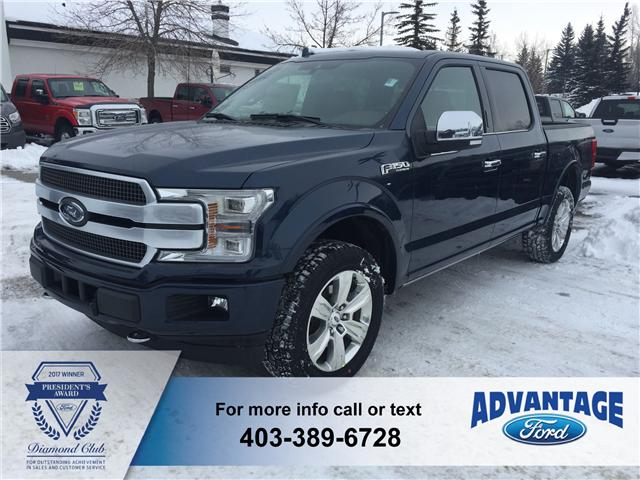 2018 Ford F-150 Platinum (Stk: J-386) in Calgary - Image 1 of 5