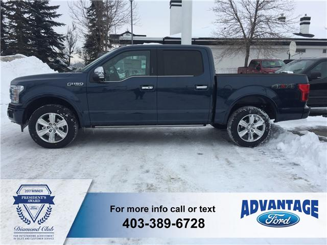 2018 Ford F-150 Platinum (Stk: J-386) in Calgary - Image 2 of 5