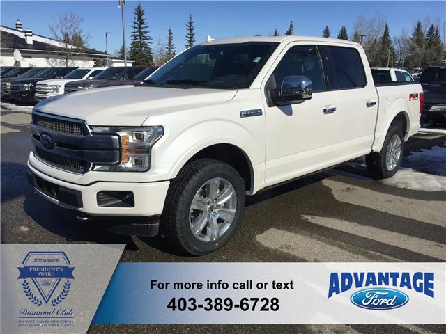 2018 Ford F-150 Platinum (Stk: J-662) in Calgary - Image 1 of 5
