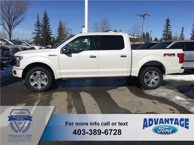 2018 Ford F-150 Platinum (Stk: J-662) in Calgary - Image 2 of 5