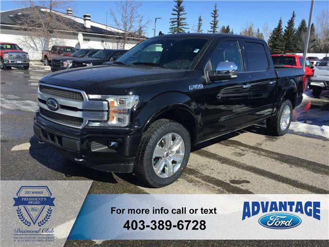 2018 Ford F-150 Platinum (Stk: J-661) in Calgary - Image 1 of 6