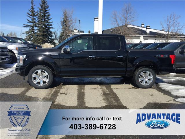 2018 Ford F-150 Platinum (Stk: J-661) in Calgary - Image 2 of 6