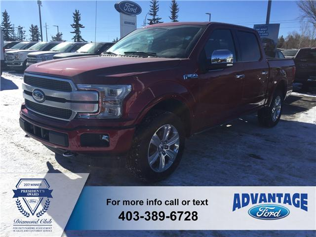 2018 Ford F-150 Platinum (Stk: J-398) in Calgary - Image 1 of 5
