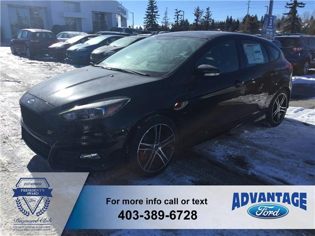 2018 Ford Focus ST Base (Stk: J-294) in Calgary - Image 1 of 6