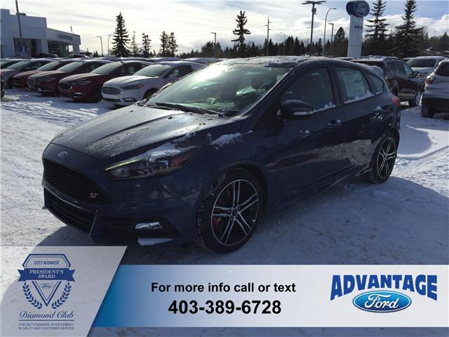 2018 Ford Focus ST Base (Stk: J-300) in Calgary - Image 1 of 5