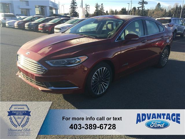 2018 Ford Fusion Hybrid SE (Stk: J-171) in Calgary - Image 1 of 5