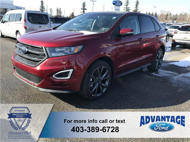 2018 Ford Edge Sport (Stk: J-442) in Calgary - Image 1 of 5