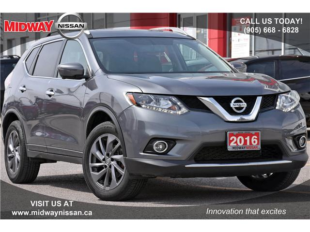 2016 Nissan Rogue SL Premium (Stk: HN202356A) in Whitby - Image 1 of 23