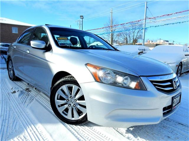 2011 Honda Accord EX-L (Stk: 1HGCP2) in Kitchener - Image 1 of 25