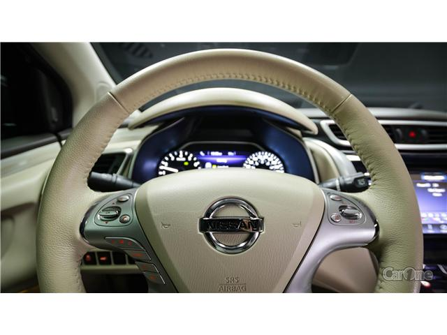 2017 Nissan Murano SL (Stk: 18-194A) in Kingston - Image 18 of 33