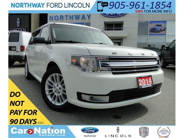 2014 Ford Flex SEL | HEATED SEATS | 7 PASSENGER | TOW PKG | (Stk: F180125A) in Brantford - Image 1 of 25