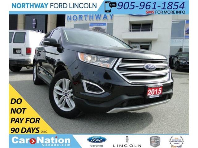 2015 Ford Edge SEL | NAV | REAR CAM | HEATED SEATS | PANO ROOF | (Stk: EG80801A) in Brantford - Image 1 of 24