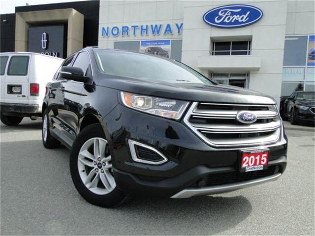 2015 Ford Edge SEL | NAV | REAR CAM | HEATED SEATS | PANO ROOF | (Stk: EG80801A) in Brantford - Image 2 of 24