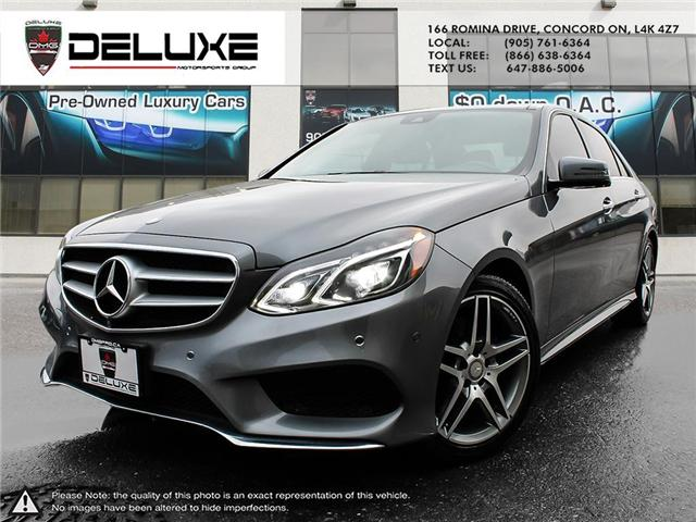 2016 Mercedes-Benz E-Class Base (Stk: D0342) in Concord - Image 1 of 24