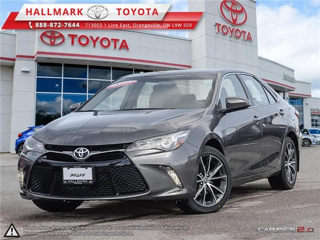 2016 Toyota Camry 4-Door Sedan XSE 6A (Stk: HU4350) in Orangeville - Image 1 of 27