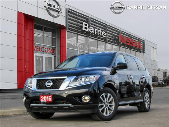 2015 Nissan Pathfinder S (Stk: P4373) in Barrie - Image 1 of 24