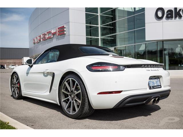 2017 Porsche 718 Boxster S (Stk: 17129) in Oakville - Image 2 of 25