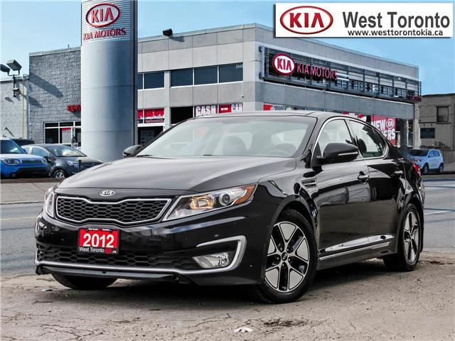 2012 Kia Optima Hybrid Premium (Stk: T17433) in Toronto - Image 1 of 28