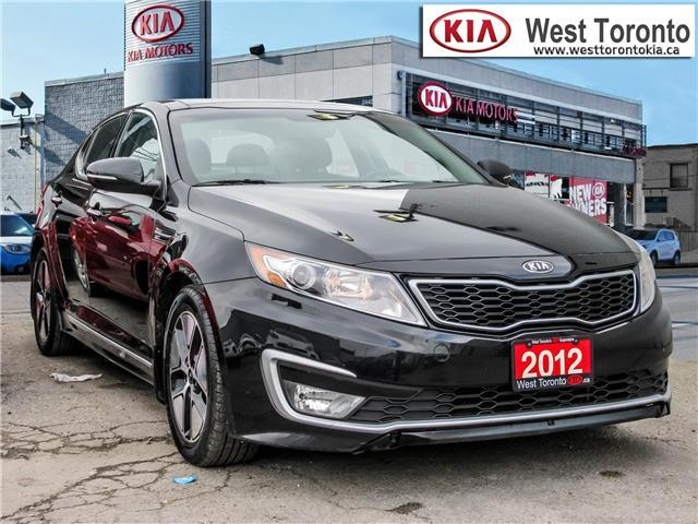 2012 Kia Optima Hybrid Premium (Stk: T17433) in Toronto - Image 3 of 28