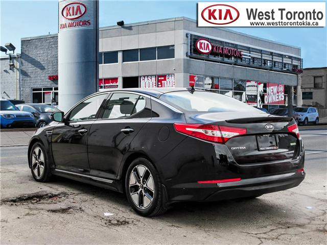 2012 Kia Optima Hybrid Premium (Stk: T17433) in Toronto - Image 6 of 28