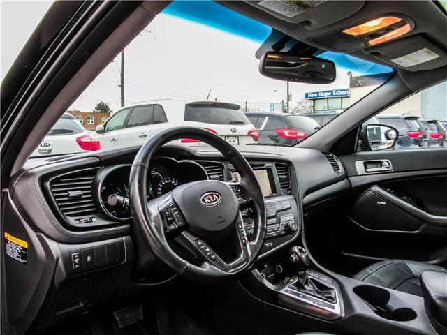 2012 Kia Optima Hybrid Premium (Stk: T17433) in Toronto - Image 9 of 28