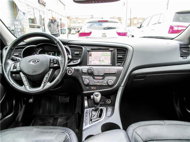 2012 Kia Optima Hybrid Premium (Stk: T17433) in Toronto - Image 12 of 28