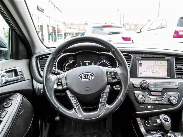 2012 Kia Optima Hybrid Premium (Stk: T17433) in Toronto - Image 13 of 28