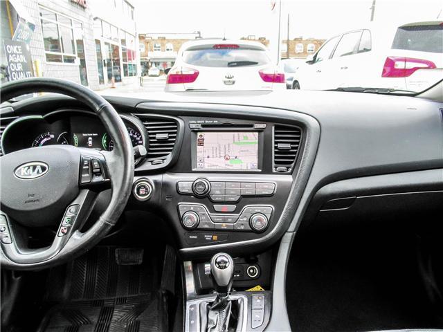 2012 Kia Optima Hybrid Premium (Stk: T17433) in Toronto - Image 14 of 28