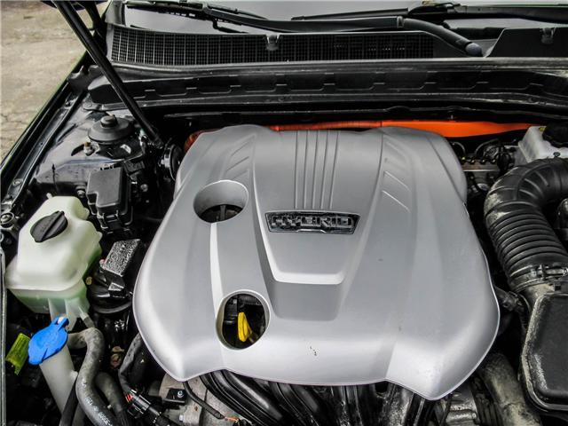 2012 Kia Optima Hybrid Premium (Stk: T17433) in Toronto - Image 20 of 28
