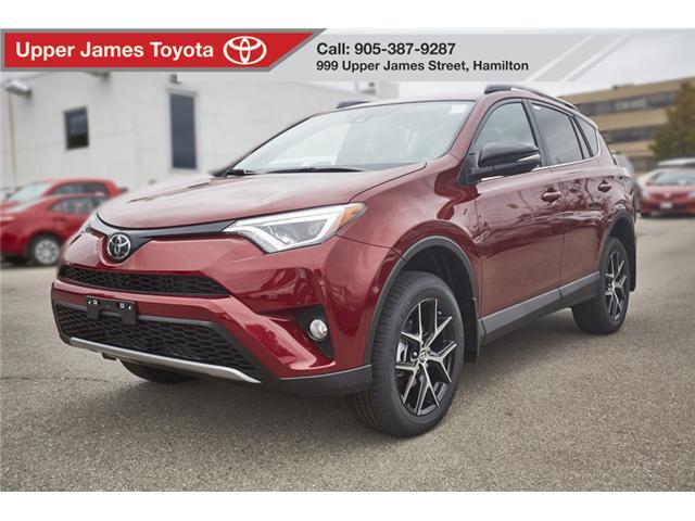 2018 Toyota RAV4 SE (Stk: 180549) in Hamilton - Image 1 of 14