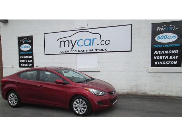 2013 Hyundai Elantra GL (Stk: 171515) in Richmond - Image 2 of 13