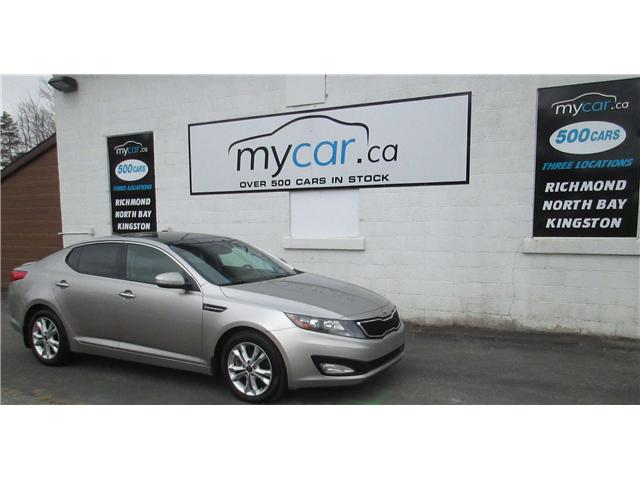 2013 Kia Optima EX Turbo + (Stk: 171608) in Richmond - Image 2 of 14