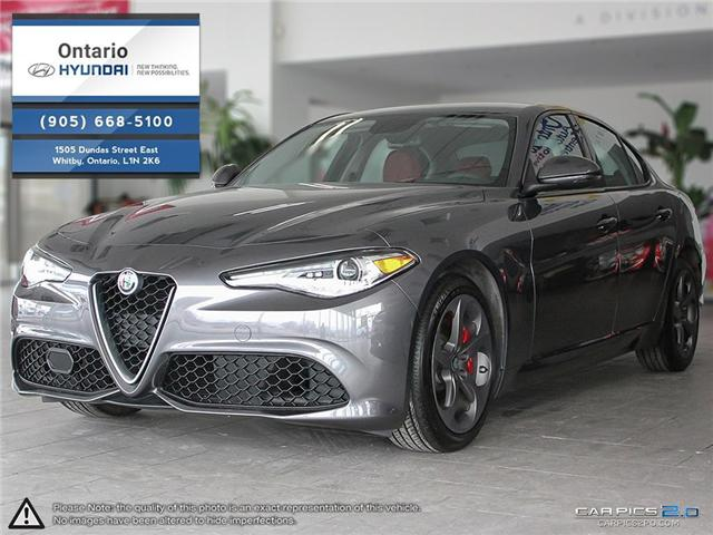 2017 Alfa Romeo Giulia SPORT | Q4 | AWD | TECH + NAVI (Stk: 32504K) in Whitby - Image 1 of 26