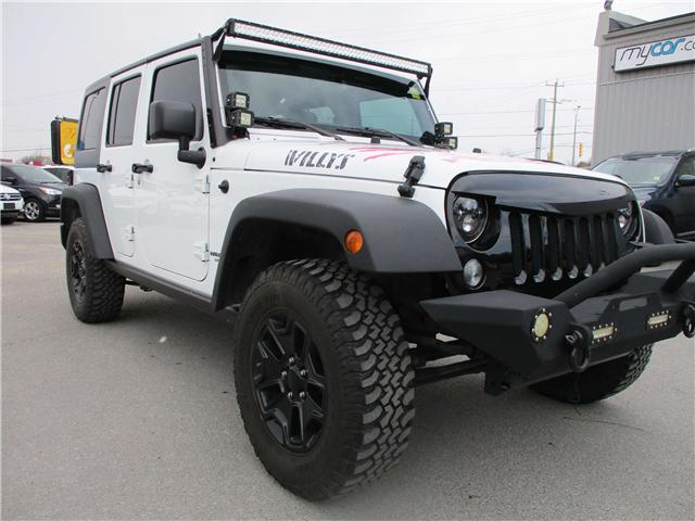 2016 Jeep Wrangler Unlimited Sport (Stk: 180342) in Kingston - Image 1 of 16