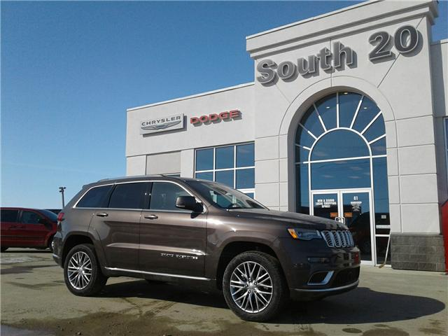 2017 Jeep Grand Cherokee Summit (Stk: 31PV265) in Humboldt - Image 1 of 22