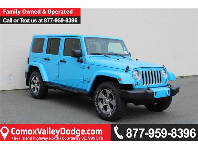2018 Jeep Wrangler JK Unlimited Sahara (Stk: L863693) in Courtenay - Image 1 of 34
