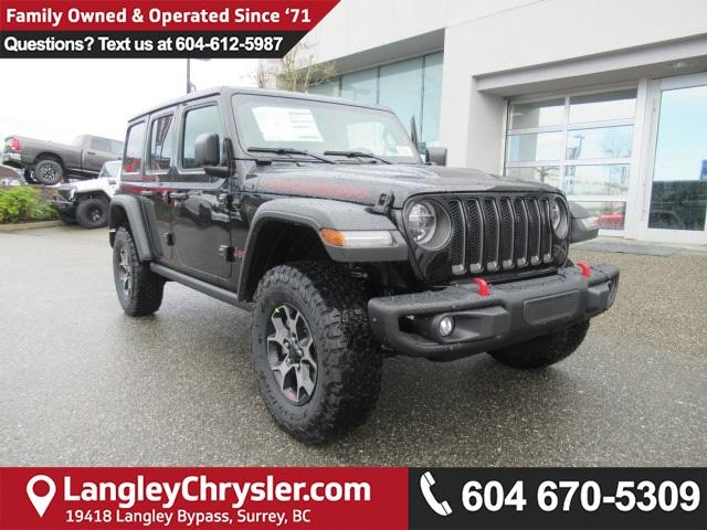 2018 Jeep Wrangler Unlimited Rubicon (Stk: J103006) in Surrey - Image 1 of 14