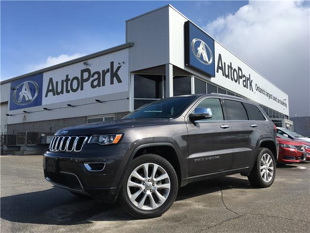 Used Tires Barrie >> Used 2017 Jeep Grand Cherokee Limited For Sale In Innisfil