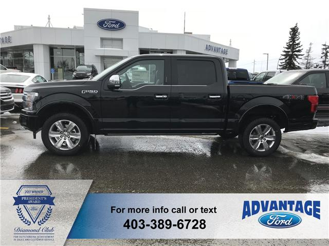 2018 Ford F-150 Platinum (Stk: J-660) in Calgary - Image 2 of 6
